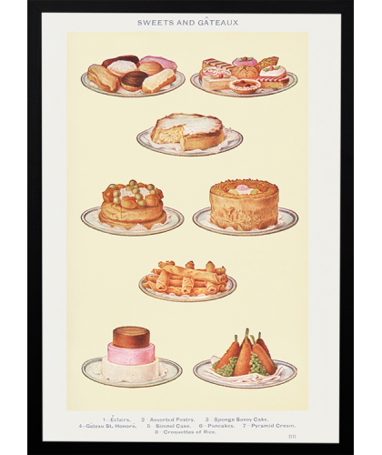 Sweets and Gâteaux