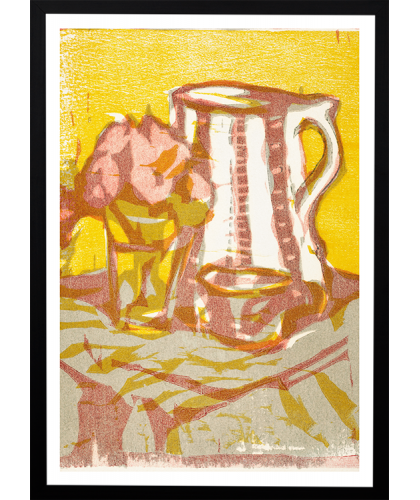 Still life with pitcher and...